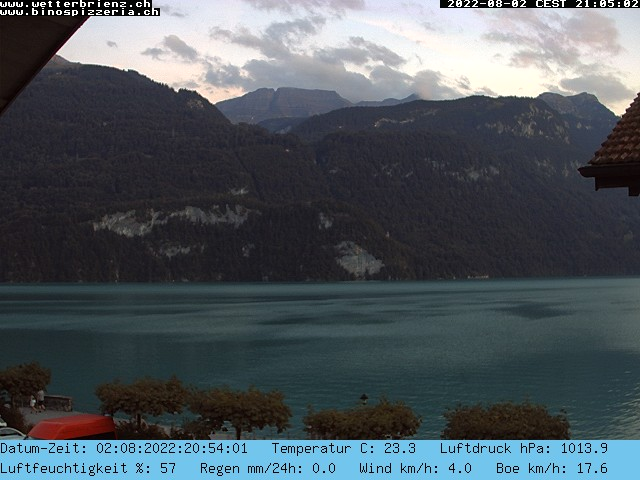 Webcam Fischerplatz, Brienz